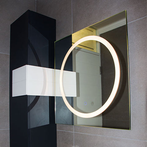 Bright Star LED Square Mirror Light