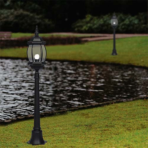 Bright Star Aluminium Outdoor Bollard