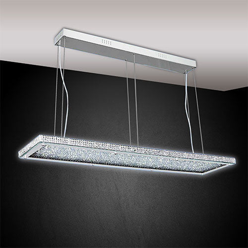 Bright Star Stainless Steel LED Pendant