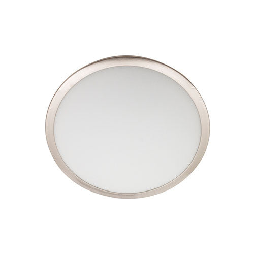 Bright Star Satin Chrome with White Glass Ceiling Light 300mm CF264 SMALL