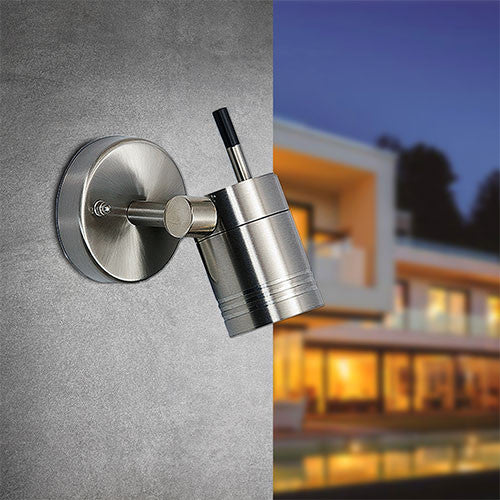 Bright Star Swival Head Outdoor Wall Light L198