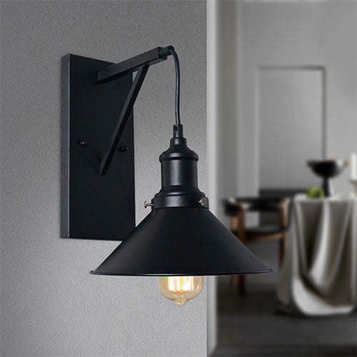 Bright Star Black Metal Wall Bracket