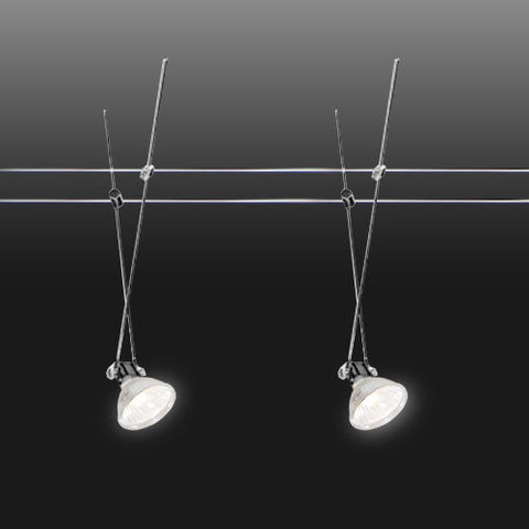 Bright Star Wire Track Light Kit - 5m MR16