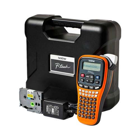 Brother P-TOUCH E-100VP Label Printer