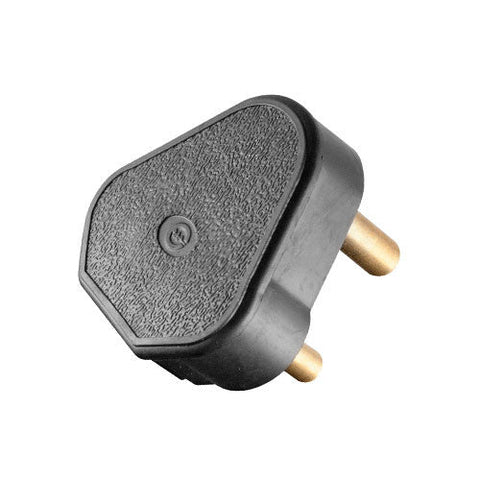 Crabtree Plug Top 3 Pin 16A Rubber