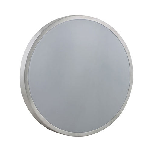 Eurolux LED Ceiling Light Silver Rim 24W 4000K