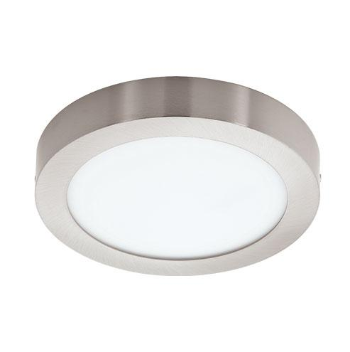 EGLO Connect Fueva-C Round LED Ceiling Light 225mm Satin Nickel
