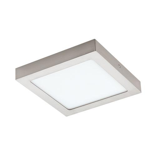 Satin NickelEGLO Connect Fueva-C Square LED Downlight 255mm Satin Nickel