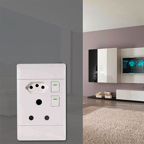 Cbi Sa Euro Combined Switch Socket Outlet