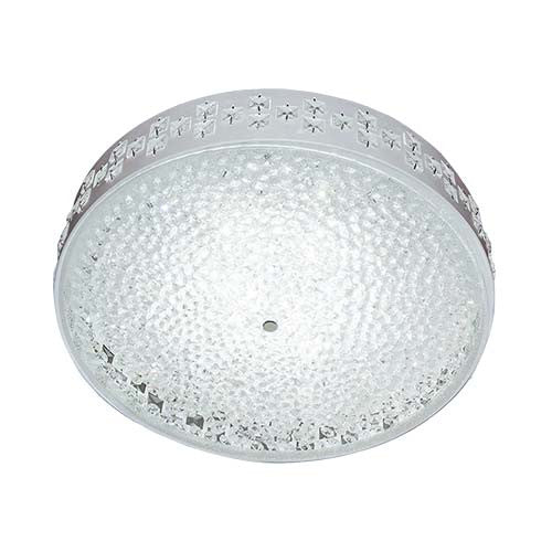 Bright Star LED Ceiling Fitting With Glass Crystals