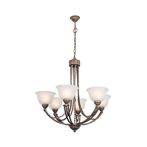 Eurolux Up Facing Chandelier