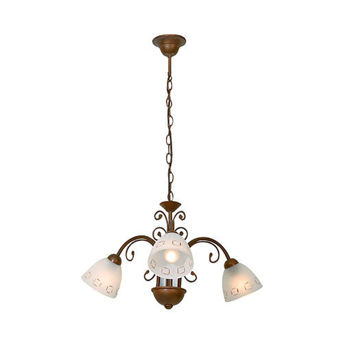 Eurolux Tuscany 3 Light Down Facing Chandelier