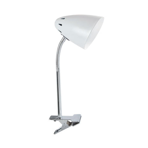 Bright Star Polished Chrome Clip-On Desk Lamp 40W