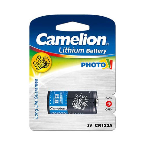 Major Tech CR123A Type, 3V Lithium Photo Battery