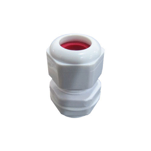 Matelec Cable Gland No 1 White With Red Grommet