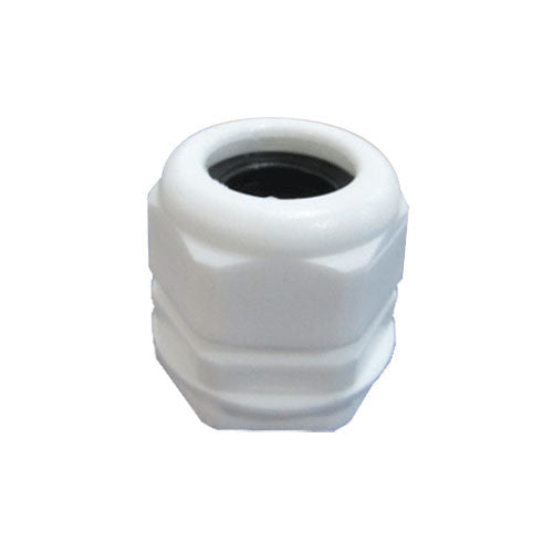 Matelec Cable Gland No 2 White With Black Grommet