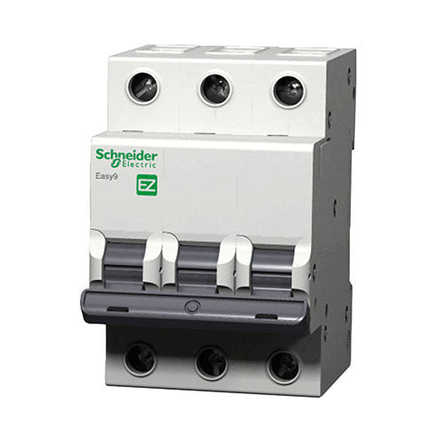 Schneider Electric  Easy9 Mcb 3 Pole 3Ka