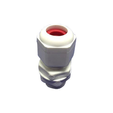 Matelec Conduit Gland No 1 White With Red Grommet