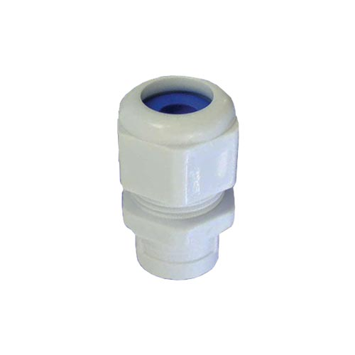 Matelec Conduit Gland No 0 White With Blue Grommet