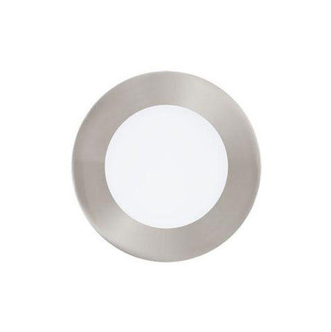 EGLO Connect Fueva-C Round LED Downlight 120mm Satin Nickel