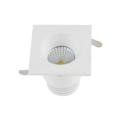 Major Tech LED Square Downlight 3W 50mm Cut Out