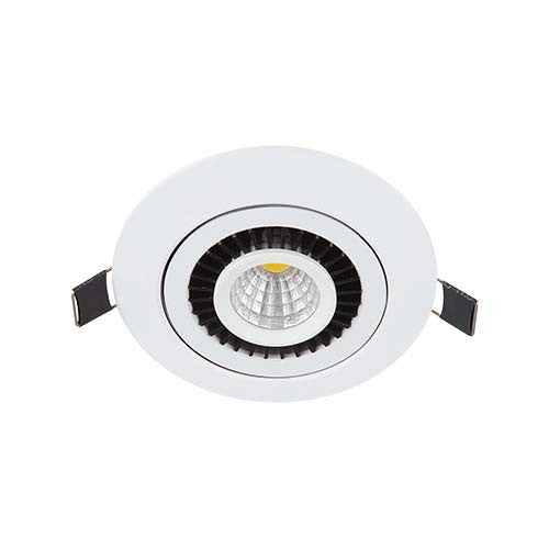 Major Tech LED Large Disc Downlight 3W 90mm Cut Out