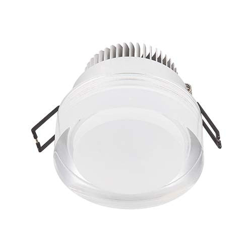 Major Tech LED Acrylic Cylinder Downlight 3W 60mm Cut Out