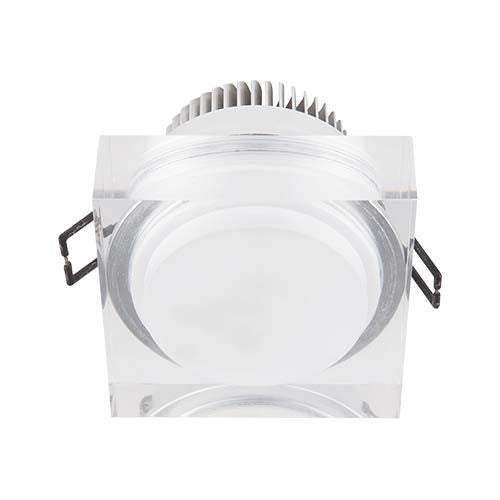 Major Tech LED Acrylic Column Downlight 3W 60mm Cut Out