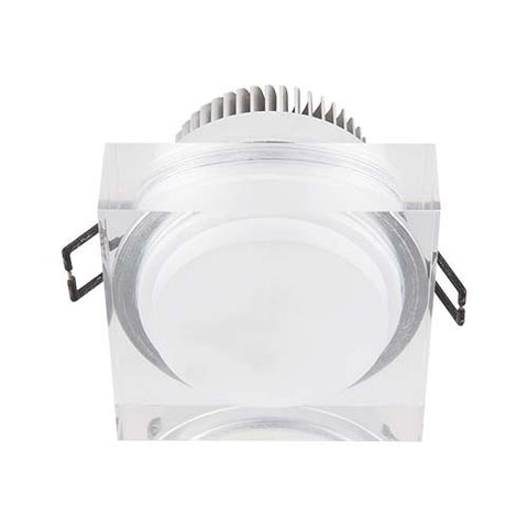 Major Tech LED Acrylic Column Downlight 3W - 60mm Cut Out