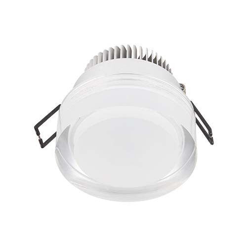 Major Tech LED Acrylic Cylinder Downlight 5W 80mm Cut Out