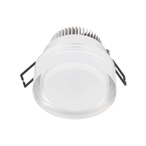 Major Tech LED Acrylic Cylinder Downlight 5W - 80mm Cut Out
