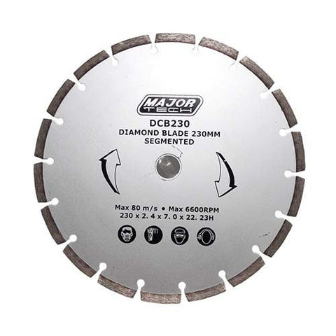 Major Tech's Diamond Cutting Blades DCB115