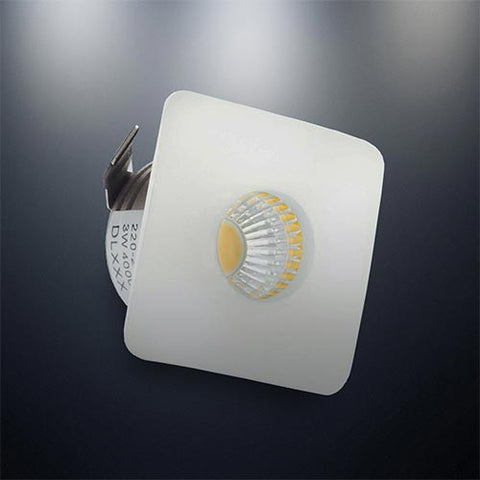 Bright Star 3W LED Downlight - 36mm Cut Out DL047 WHITE