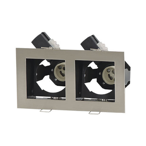 Bright Star Double Straight Downlight Satin