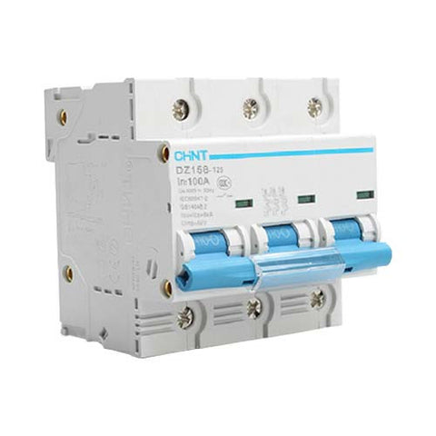 Chint 6Ka 3 Pole C Curve Circuit Breaker