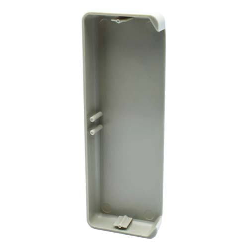 Decorduct 2 Compartment End Cap Light Grey
