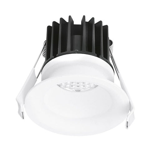 Enlite CurveE LED Baffle 10W Dimmable Downlight IP44