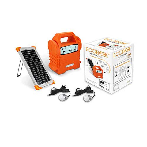 Ecoboxx Qube 50 Home Solar Kit