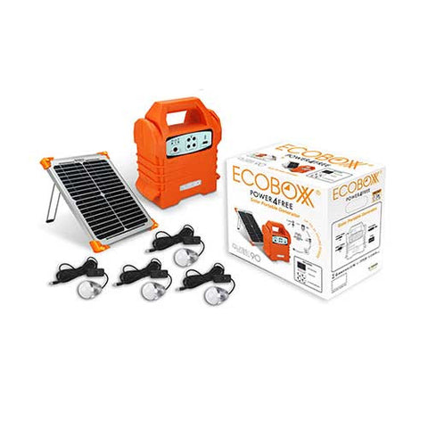 Ecoboxx Qube 90 Home Solar Kit