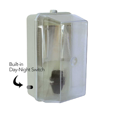 Rectangular Bulkhead with Day-Night Sunset Switch