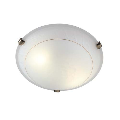 Eurolux Round Rose Patterned Ceiling Light
