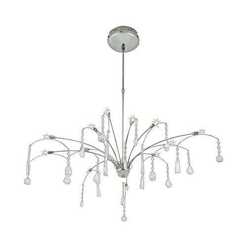 Eurolux Crystal Chandelier With Adjustable Suspension