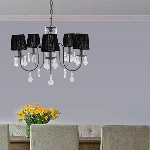 Eurolux 5 Light Crystal Chandelier