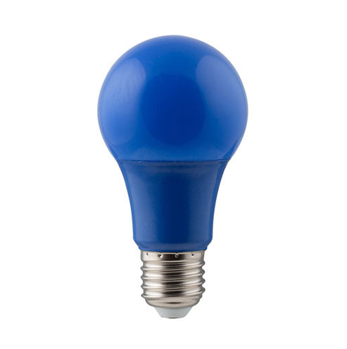 Eurolux LED Coloured Globe E27 7W 85lm Blue