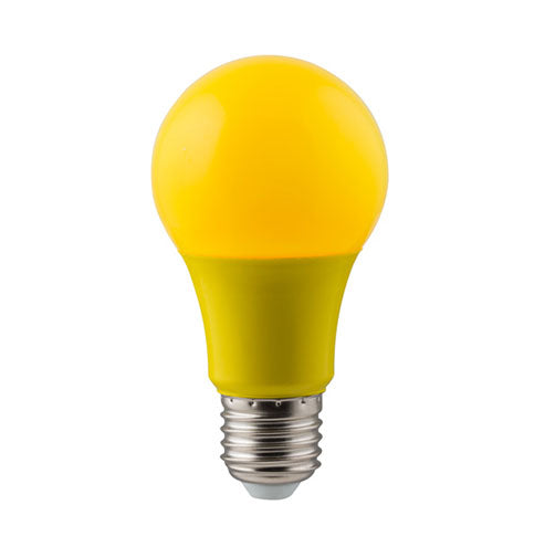 Eurolux LED Coloured Globe E27 7W 630lm Yellow