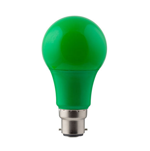 Eurolux LED Coloured Globe B22 7W 185lm Green