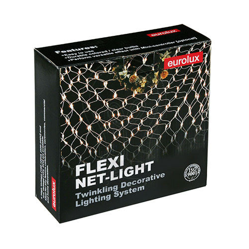 Eurolux Small Flexi Net Christmas Light