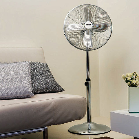 "Eurolux 16"" Floor Fan Copper F22C"
