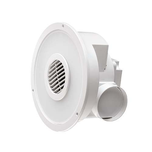Stupendous Bright Star Round Bathroom Extractor Fan Light Home Interior And Landscaping Ologienasavecom