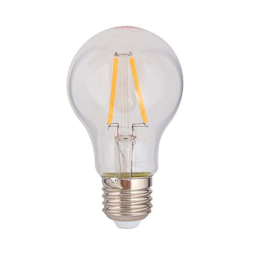Eurolux LED Clear Filament Globe Bulb E27 4W 360lm - Warm White
